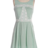 White Chocolate Mint Dress - $37.25 : Shop Cute Dresses and Clothing - Canada