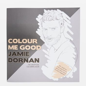 Jamie Dornan Colouring In Book | Topshop
