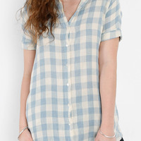White Crow Bandita Plaid Tunic