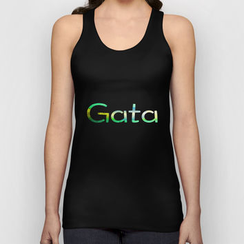 Brazilian Gata Unisex Tank Top by UMe Images
