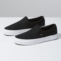 Vans Slip On Herringbone Black