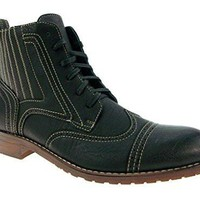 Ferro Aldo Men's 806011 Ankle High Lace Up Casual Dress Boots