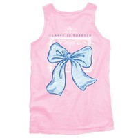 Lily Grace Classy is Forever Preppy Tank Top in Pink 10445-CC