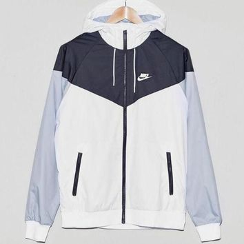 """NIKE"" Fashion Women Men Casual Zipper Long Sleeve Hoodie Cardigan Sweatshirt Jacket Coat Windbreaker Sportswear I"