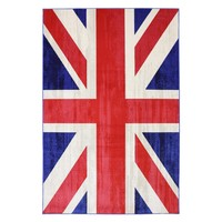 Mohawk Home Union Jack Jockey Indoor/Outdoor Rug | www.hayneedle.com