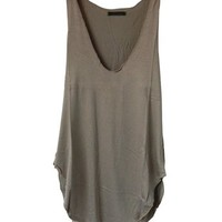Fashion Summer Woman Lady Sleeveless V-Neck Candy Vest Loose Tank Tops T-shirt