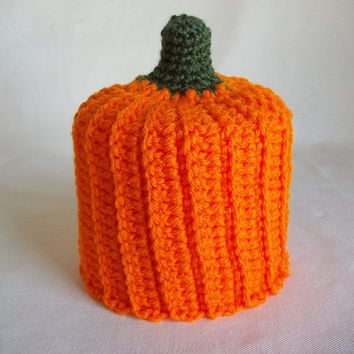 Pumpkin Toilet Paper Cover,Autumn Toilet Paper Cover,Autumn Decor,Autumn Bathroom Decor,Halloween Toilet Paper Cover,Halloween Decor,Pumpkin