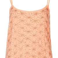 Petite Flower Geo Bead Cami - New In This Week - New In - Topshop USA