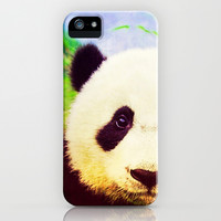 Panda - for iphone iPhone & iPod Case by Simone Morana Cyla
