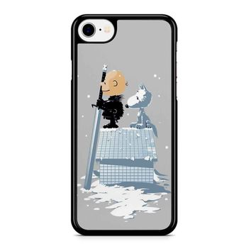 Winter Peanuts Snoopy Iphone 8 Case