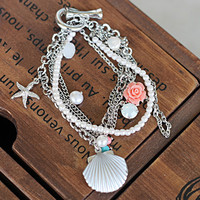 Rose Chain Bracelet on Luulla