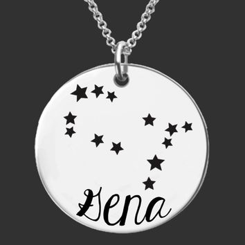 Zodiac Constellation | Personalized Necklace