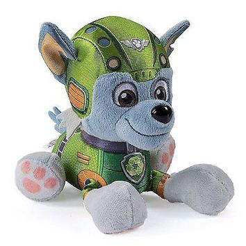 "Paw Patrol Air Rescue, 8"" Plush Pup Pals, Rocky"
