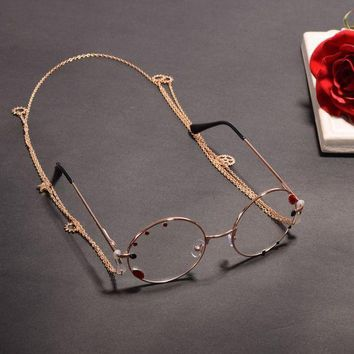 PEAPON 1pc Vintage Women Gothic Steampunk Lolita Glassess Goggles with Chain Gear Party Cosplay Accessory