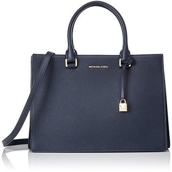 Michael Kors Women's Gusset Shoulder Bag, 16 x 24 x 32.5 cm