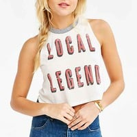 Black Moon Local Legend Muscle Tee- Ivory
