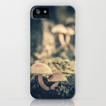 mushrooms iPhone & iPod Case by Christian Solf