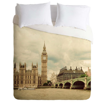 Happee Monkee Big Ben Duvet Cover