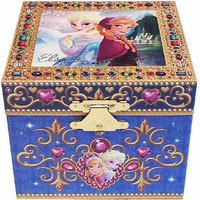 disney parks authentic frozen anna and elsa musical trink jewelry box rare new