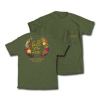 """*Closeout* Southern Raised """"Fall in Love"""" Tee on Comfort Colors"""