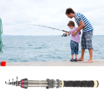 Ultralhard Rock Fishing Rod High Carbon Saltwater Rod Telescopic Spinning Fishing Rods Hand Pole Trolling Ice Casting Trout