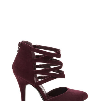 Wishbone Granted Strappy Pointy Heels