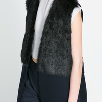 Fall Fashion Fur Vest