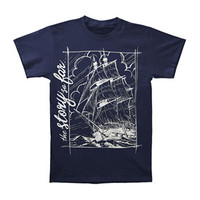 Story So Far Men's  Ship T-shirt Blue Rockabilia