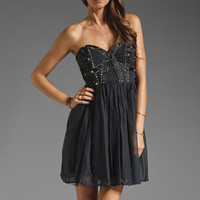 Wish Bona Fide Perceptible Dress in Navy from REVOLVEclothing.com