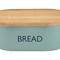 "Summerhouse ""Bread"" Box, Blue, Food Storage Containers"