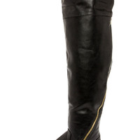 Report Signature Gwyn Black Over the Knee Boots