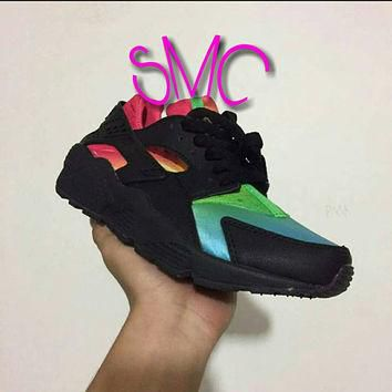 Custom Nike Air Huarache Painted Originals Shoes Nike Huarache Painted Shoes Sprayed S