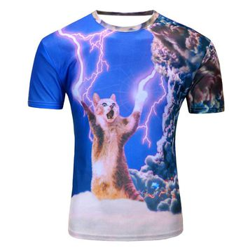 Cat Lightning Shirt