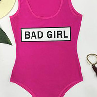 Cupshe Bad Girl One-piece Swimsuit