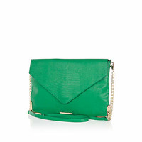 Green snake cross body bag - cross body bags - bags / purses - women