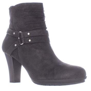 Aerosoles Ment To Be Ankle Strap Booties - Black