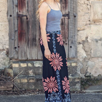 Perfectly Printed Maxi Skirt