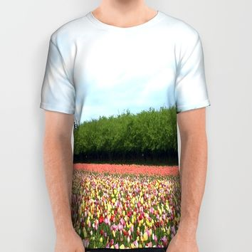 Springtime  All Over Print Shirt by Casey J. Newman