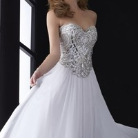 Beaded Gown by Jasz Couture