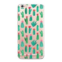 Newest Customized Cactus Case Cover for iPhone 7 7 Plus & iPhone 5s se & iPhone 6 6s Plus + Gold Necklace + Gift Box-462-170928