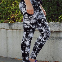 Mix It Up Yoga Leggings - Black