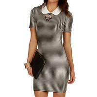 Sale-black Feeling It Fitted Tunic