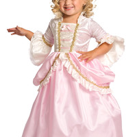 Little Adventures Pink Parisian Princess Dress Costume with Hair Bow