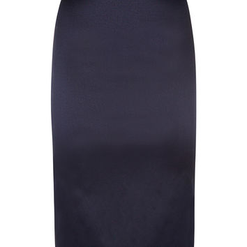 The Wiggle Skirt - Navy