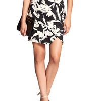 Banana Republic Womens Factory Faux Wrap Skirt