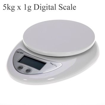 Portable 5kg  Digital Scale LCD Electronic Scales Steelyard Scale