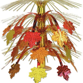 Fall Leaves Cascade Centerpiece - CASE OF 12