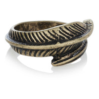 Leaf Wrap Ring - Rings - Mens Jewelry - Shoes and Accessories - TOPMAN USA