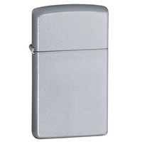 Zippo 1605 Slim Satin Chrome Windproof Lighter