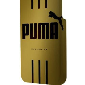 Best 3D Full Wrap Phone Case - Hard (PC) Cover with Puma Gold Design